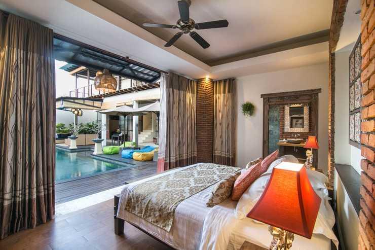 Sunset Paradise Villa Temple Hill Bali - Rooms