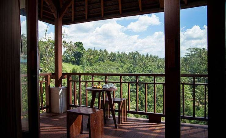 Jannata Resort & Spa Ubud - Balkon