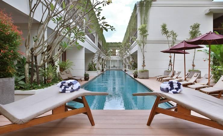 Seminyak Lagoon All Suite Hotel Bali - Kolam Renang