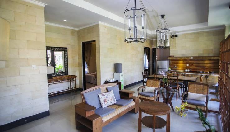 Villa Padi Cangkringan - ruang tamu