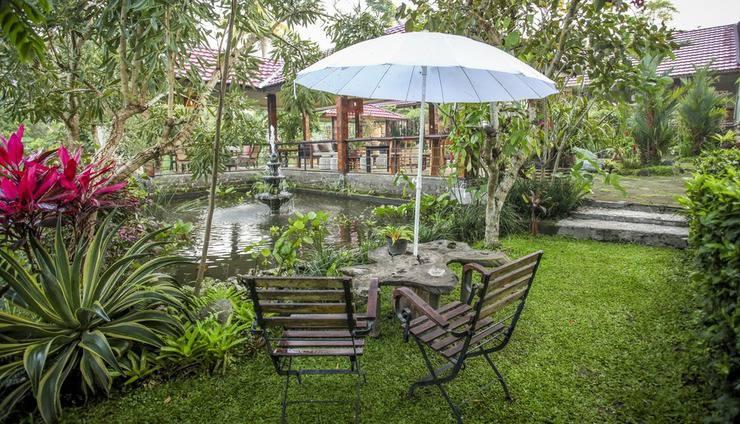 Villa Padi Cangkringan - taman