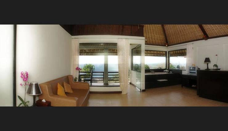 Blue Point Bay Villas and Spa Bali - Living Room