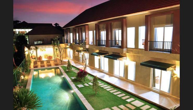 Villa Tangtu Beach Inn Bali - Featured Image
