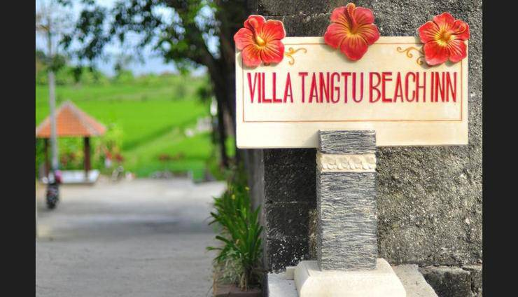 Villa Tangtu Beach Inn Bali - Hotel Entrance