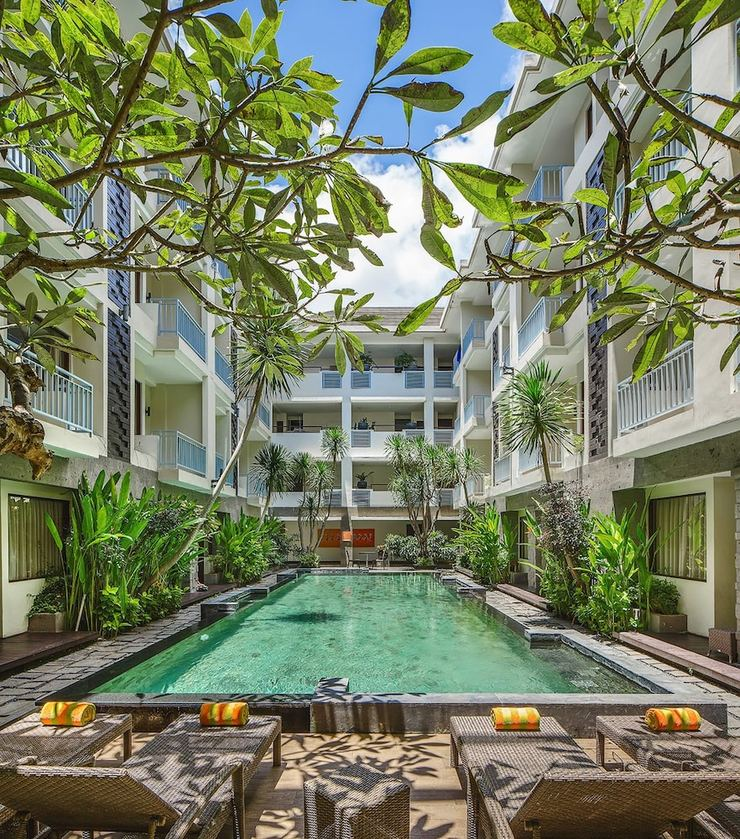 The Sunset Hotel Bali - Featured Image