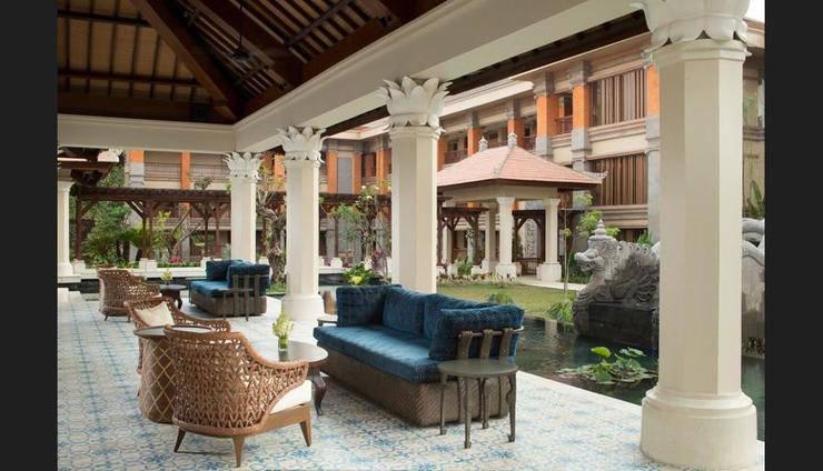Padma Resort Ubud - Lobby Sitting Area