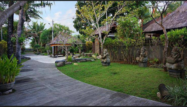 Bumi Linggah The Pratama Villas Bali - Aerial View