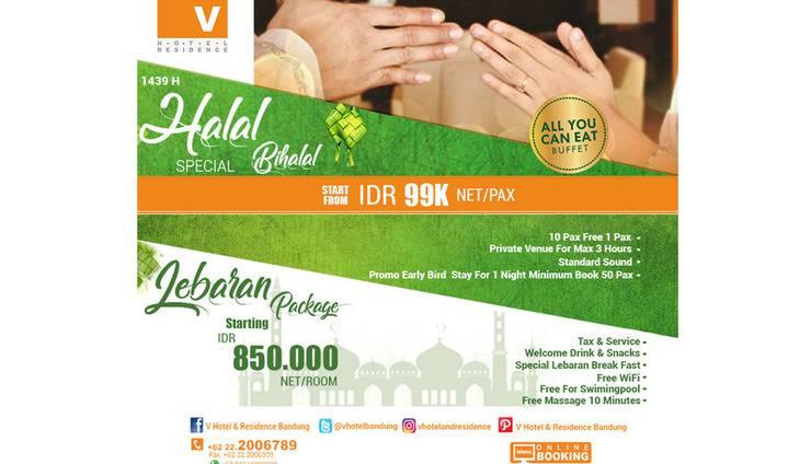 V Hotel & Residence Bandung - Halbil