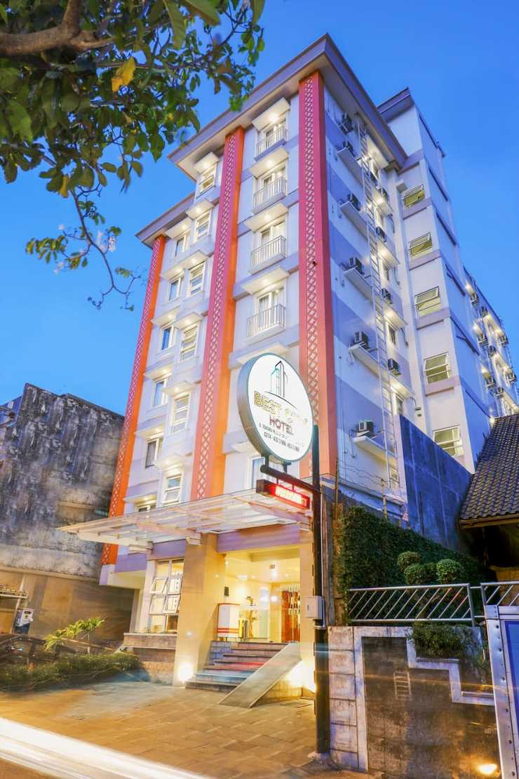 Best City Hotel Jogja - Facade