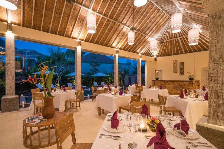 La Berceuse Resort and Villa Bali - Restaurant