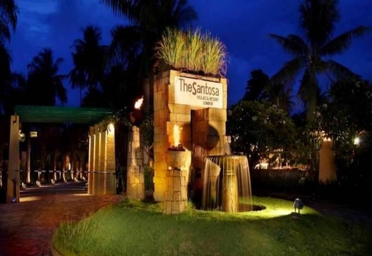 The Santosa Villas & Resort Lombok - Tampilan Depan