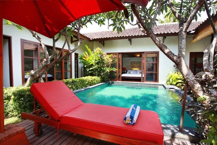 Aleesha Villas Bali - Kolam Renang - Superior Private Pool Villa