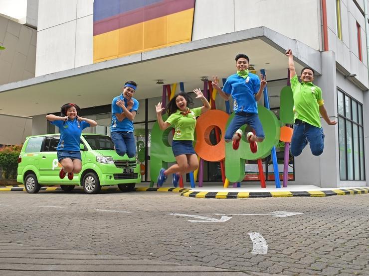 POP Hotel BSD City Tangerang - Pintu Masuk