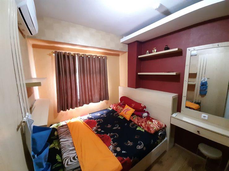 Apartemen Green Pramuka 2BR Tower Fagio by Nusalink Jakarta - Bedroom