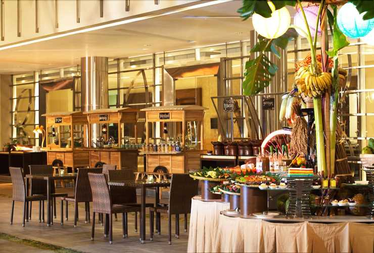 Hotel Santika Premiere Bekasi - Restaurant