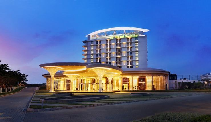 Hotel Santika Premiere Bekasi - Front of Property - Evening/Night