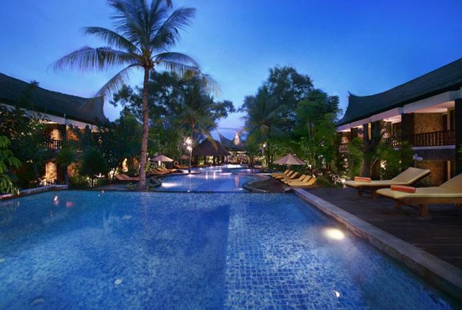 Aston Sunset Beach Resort - Gili Trawangan - Kolam Renang