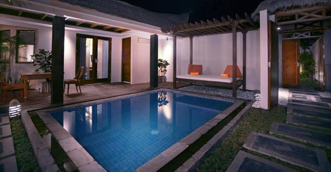 Aston Sunset Beach Resort - Gili Trawangan - Villa Satu Kamar