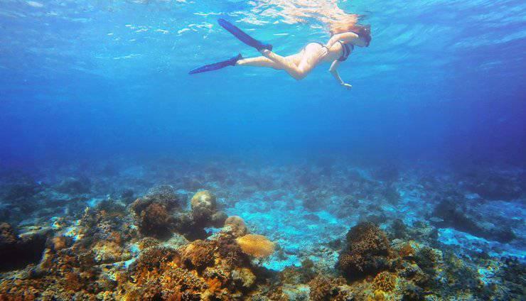 Aston Sunset Beach Resort - Gili Trawangan - Snorkeling