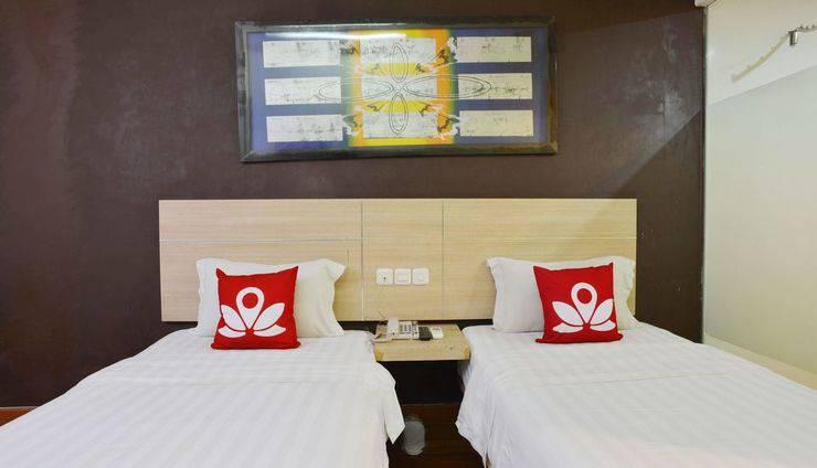 ZEN Rooms Rujia Hotel Pasar Baru - Kamar tidur