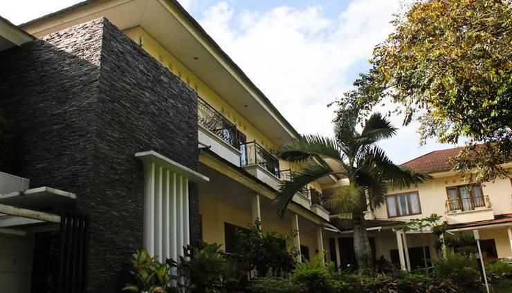 Resort Prima Cipayung - Kamar Deluxe dengan pemandangan