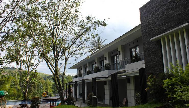Resort Prima Cipayung - Kamar Executive dengan pemandangan