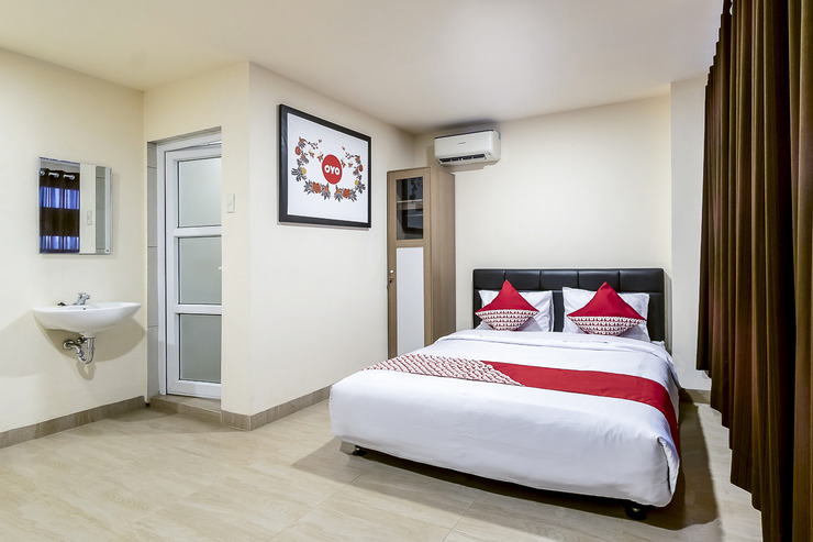 OYO 786 Sutomo Guest House Medan - Bedroom SUD
