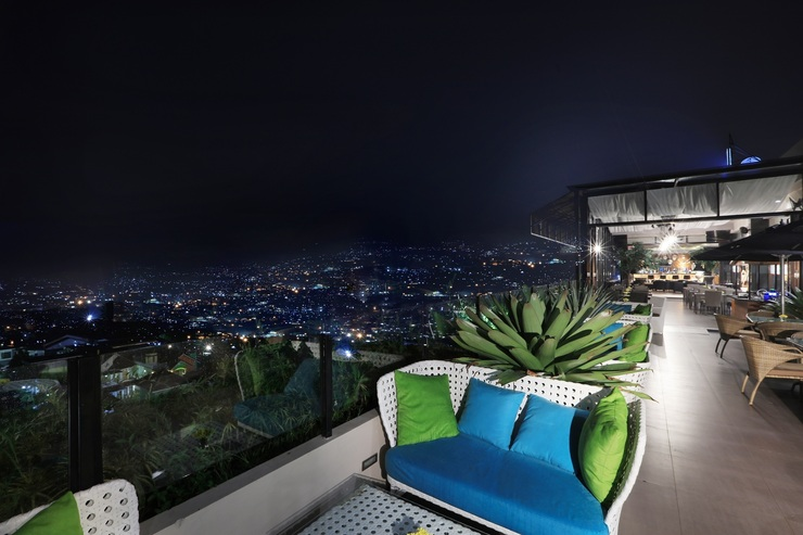 Aston Inn Batu Malang - Night View