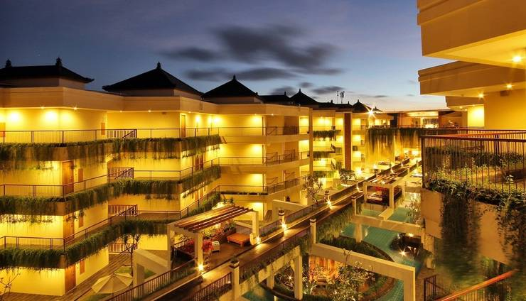Vouk Hotel and Suite Bali - surrounding