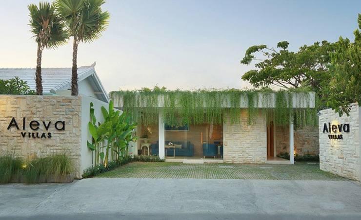 Aleva Villa Bali - Tampilan Luar Hotel