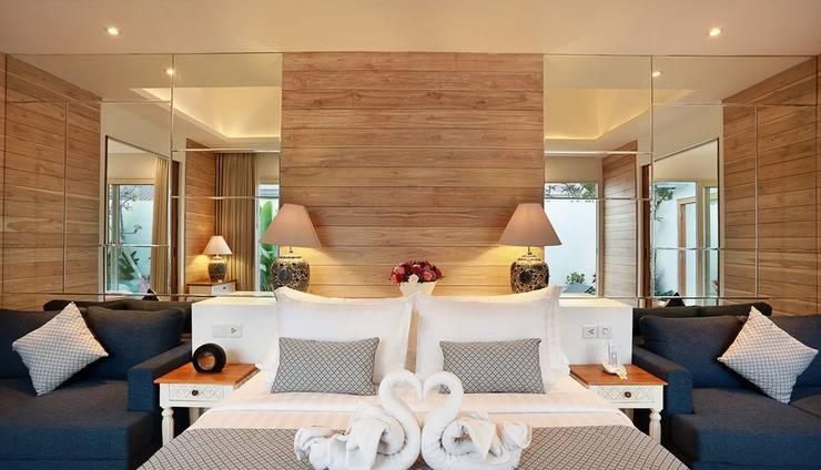 Aleva Villa Bali - Tempat tidur King