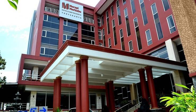 Merapi Merbabu Hotel Jogja - Pintu Masuk
