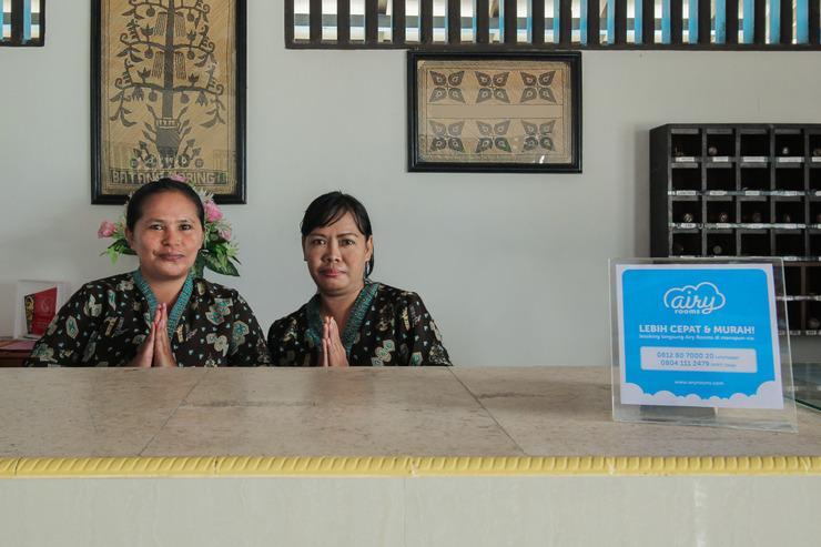 Airy Menteng Raden Saleh 1 Palangkaraya - Receptionist