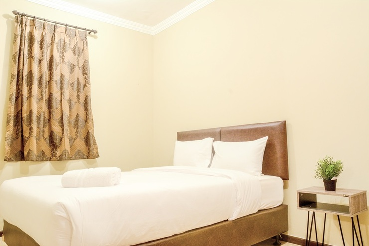 Grand Palace Kemayoran Apartment By Travelio Jakarta - Bedroom
