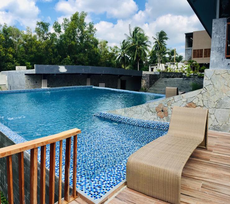 Quins Style Resort Belitung Belitung - swimming pool