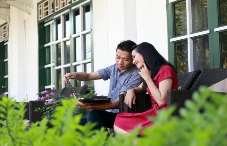 Hotel Merdeka  Kediri - Terrace