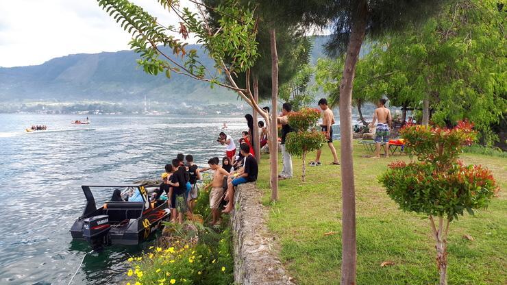 Sibigo Hotel Danau Toba - Permainan Air