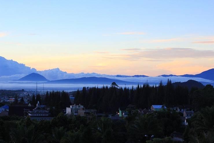 Sinabung Hills Resort Berastagi - Pemandangan