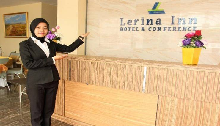 Lerina Hotel & Conference Syariah Banjarmasin - Reception