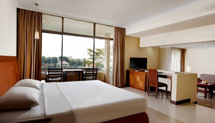 Patra Jasa Semarang Convention Hotel Semarang - Kamar Deluxe Villa dengan Balcony
