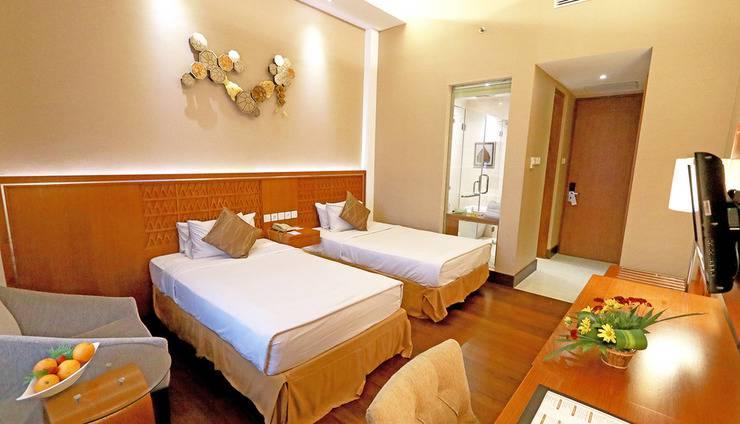Patra Jasa Semarang Convention Hotel Semarang - Kamar Deluxe dengan Tempat Tidur Ganda