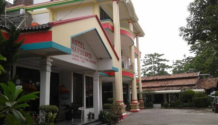 Graha Dewata Juwana Hotel Pati - Tampilan Luar Hotel