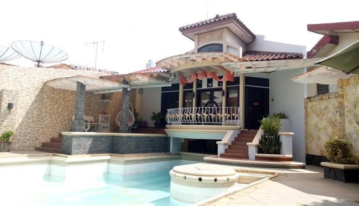 T-Rooms Homestay Palembang @Lapangan Hatta Palembang - exterior