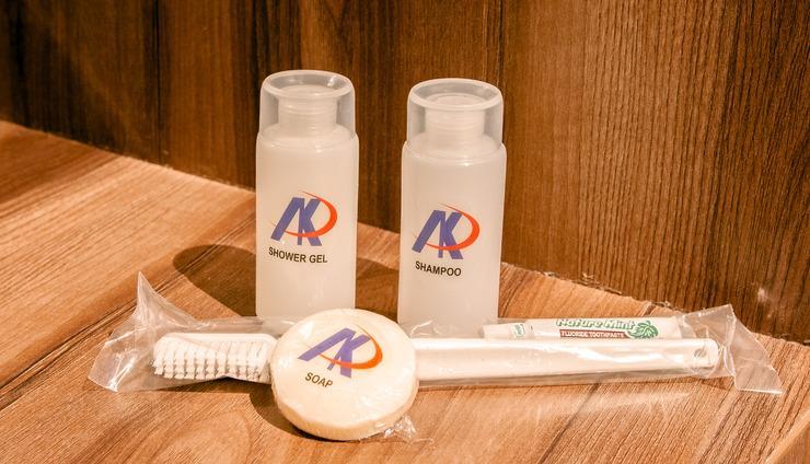AK Hotel Nagoya Hill Batam - sabun dan shampo khusus