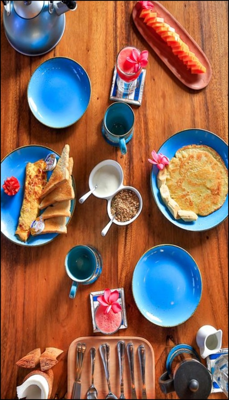 Apalagi Villas Lombok - meals