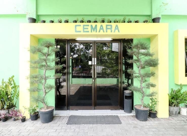 Hotel Cemara Surabaya - Bagian Luar