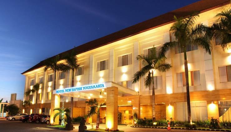 Hotel New Saphir Yogyakarta - Tampilan Luar