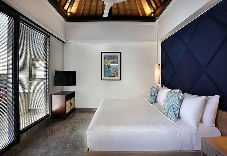 Peppers Seminyak - 2 Bedroom Pool Villa - tempat tidur king