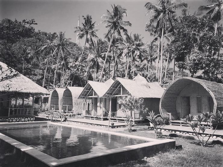 Cici's Bungalow Lombok - TAMPILAN