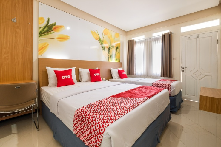 OYO 3809 Dalaga Biru Gedung 2 Cianjur - Bedroom